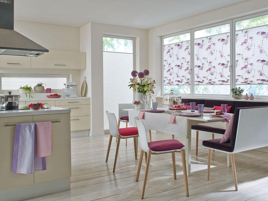Plissee vorh nge die gardine for Fensterformen modern