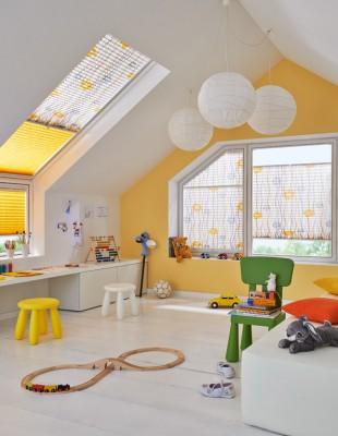 Plissee-Vorhänge - S & V - Kinderzimmer - Die Gardine Brühl - Nils Jansen - Raumausstattung