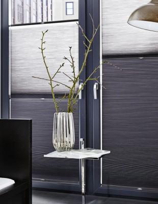 Plissee-Vorhänge - Duette - S & V - Die Gardine Brühl - Nils Jansen - Raumausstattung