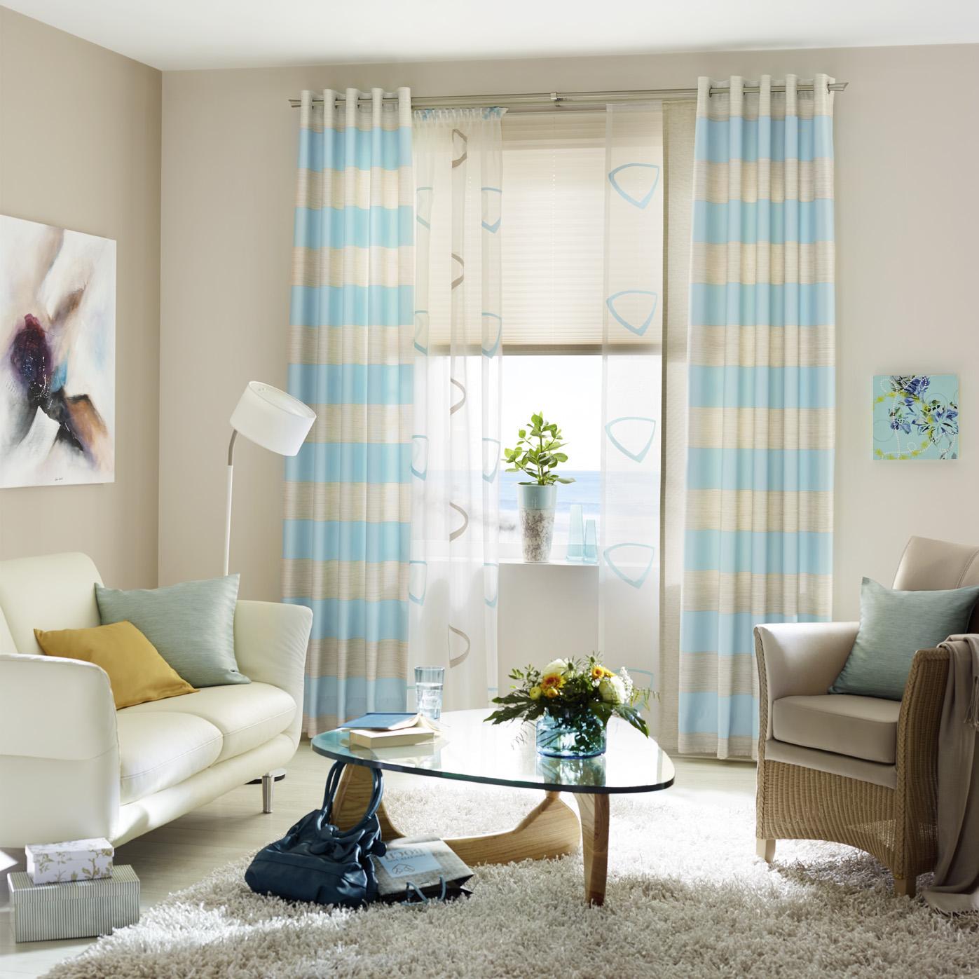 sen und schlaufengardinen die gardine. Black Bedroom Furniture Sets. Home Design Ideas