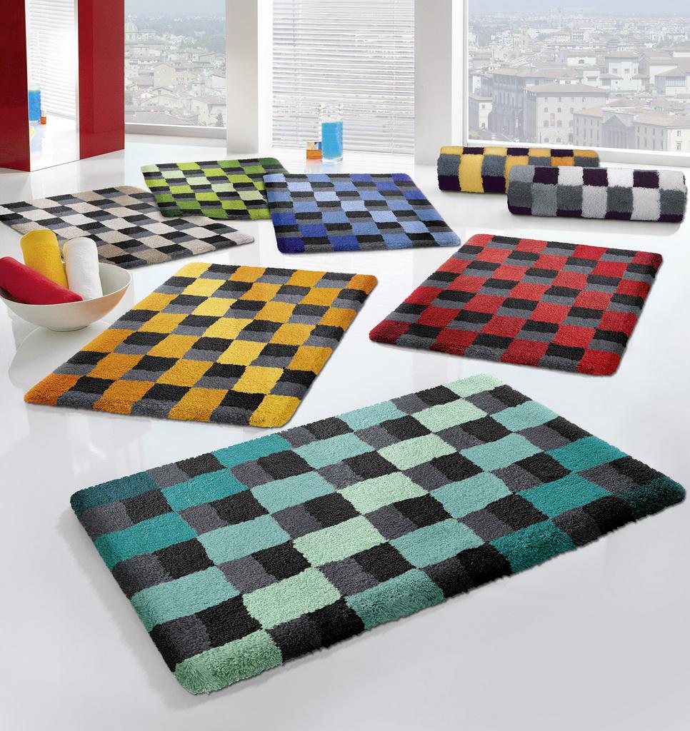 badvorleger die gardine. Black Bedroom Furniture Sets. Home Design Ideas