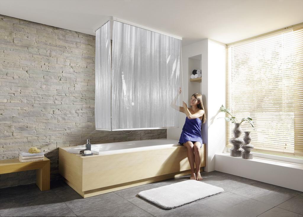 Alternative Zum Duschvorhang duschvorhänge die gardine