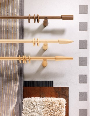 Gardinenstange aus Holz - Pax - Die Gardine Brühl - Nils Jansen