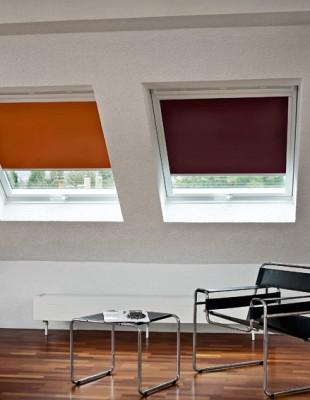 Rollo - MHZ - Dachfenster - Verdunklungsrollo - Die Gardine Brühl - Nils Jansen - Raumausstattung