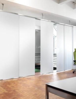 Interstil F1- Raumteiler - Flächenvorhang - Die Gardine Brühl - Nils Jansen - Raumausstattung