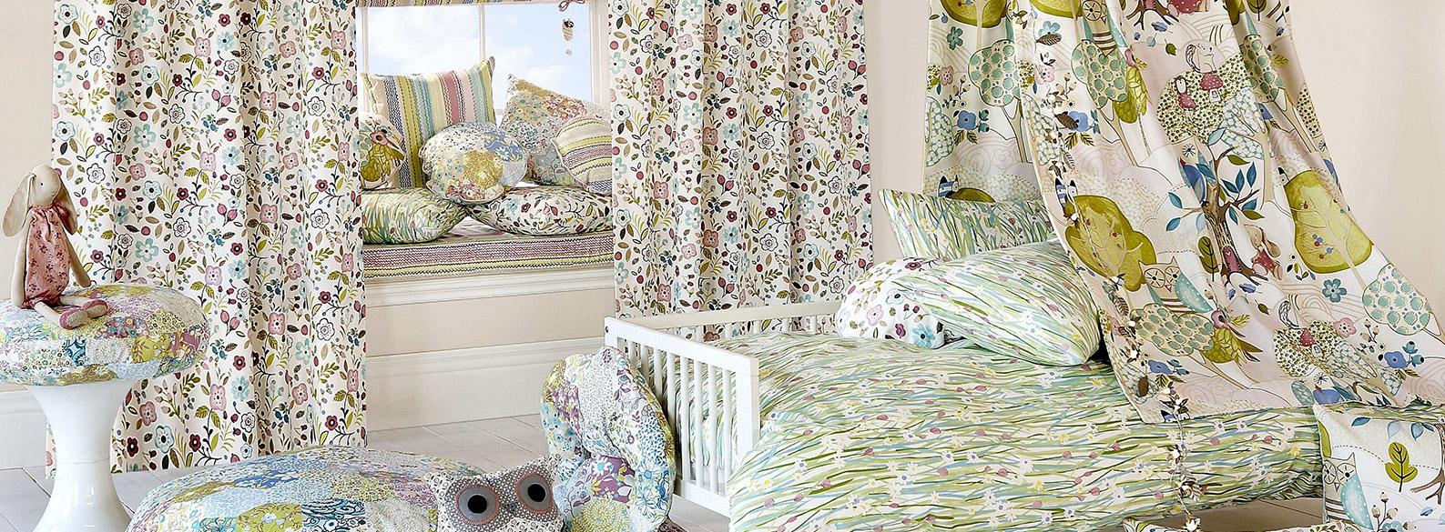 kinderzimmer die gardine. Black Bedroom Furniture Sets. Home Design Ideas