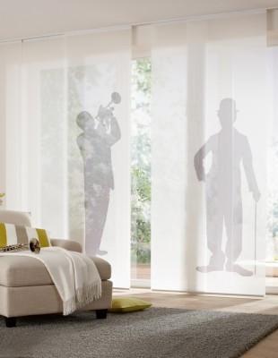 Digitaldruck- Teba Remember - Flächenvorhang - Die Gardine Brühl - Nils Jansen - Raumausstattung
