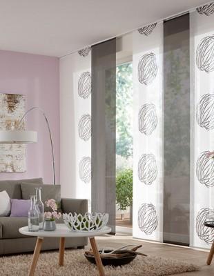 fl chenvorh nge die gardine. Black Bedroom Furniture Sets. Home Design Ideas