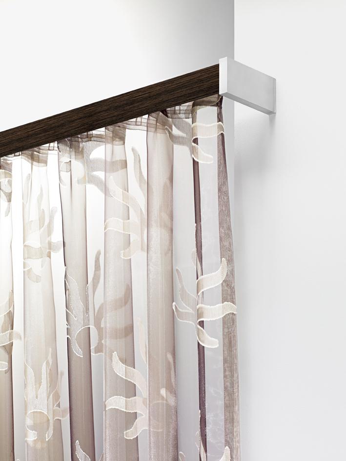 vorhangschienen und stangen die gardine. Black Bedroom Furniture Sets. Home Design Ideas